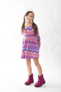 kid model, fabkids, aztec dress, kids fashion, stylish kids