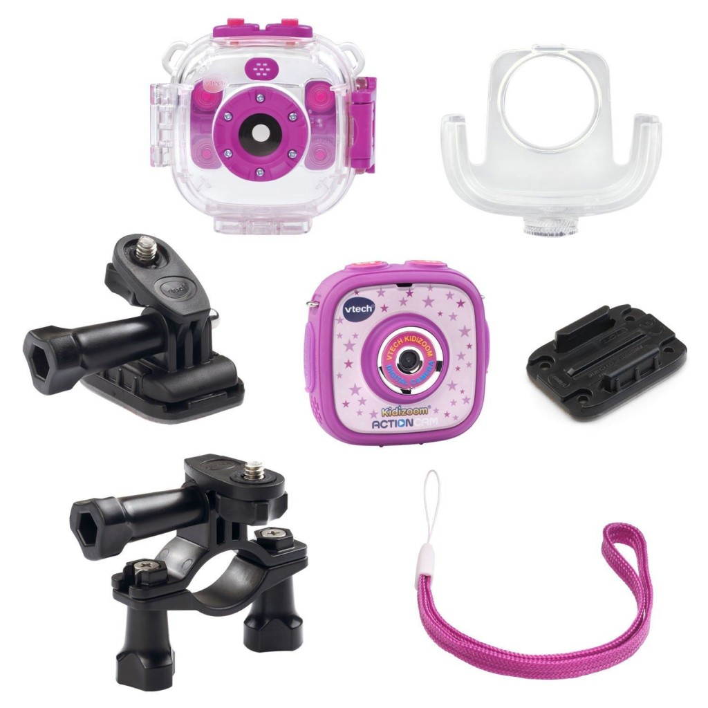 Vtech kidizoom action cam and accessories