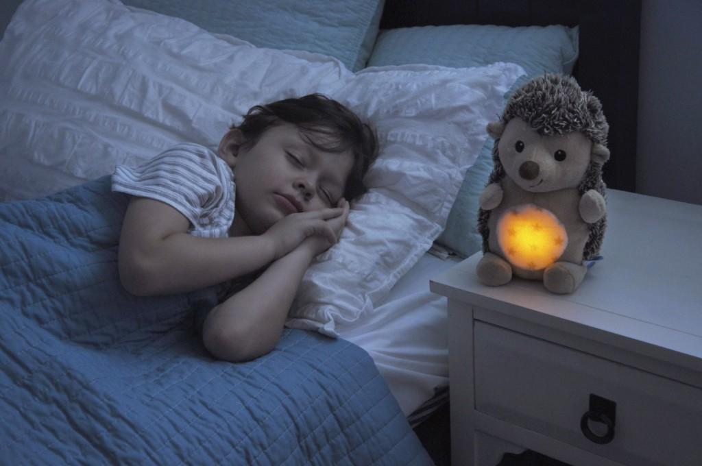 cloud b stay asleep buddies hedgehog plush