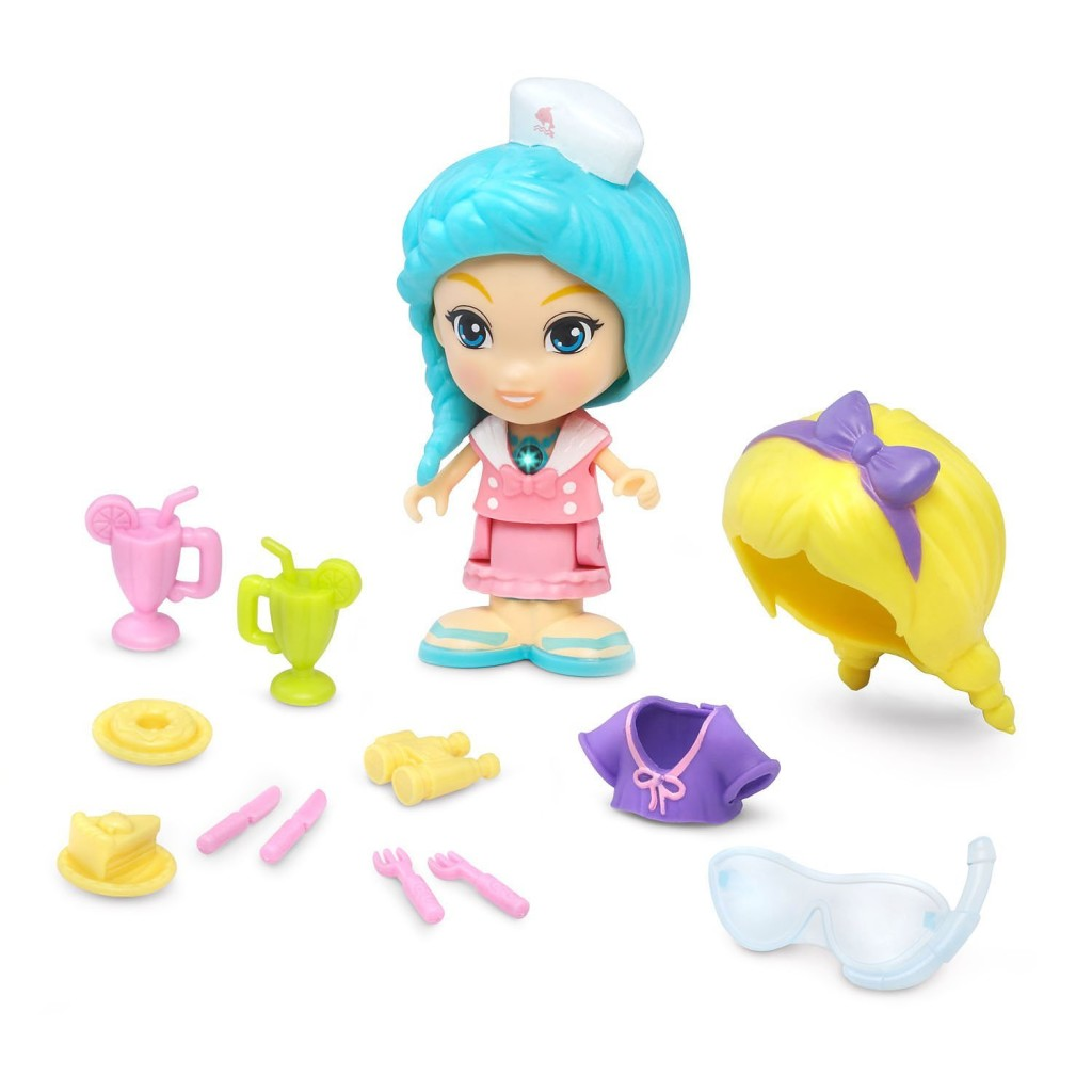 flipsies sandy doll and accessories