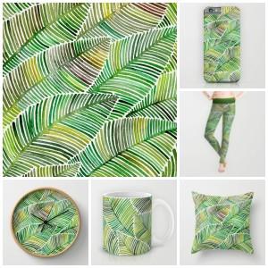 tropical green society6