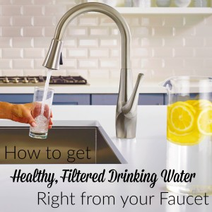 how to get filtered water from faucet