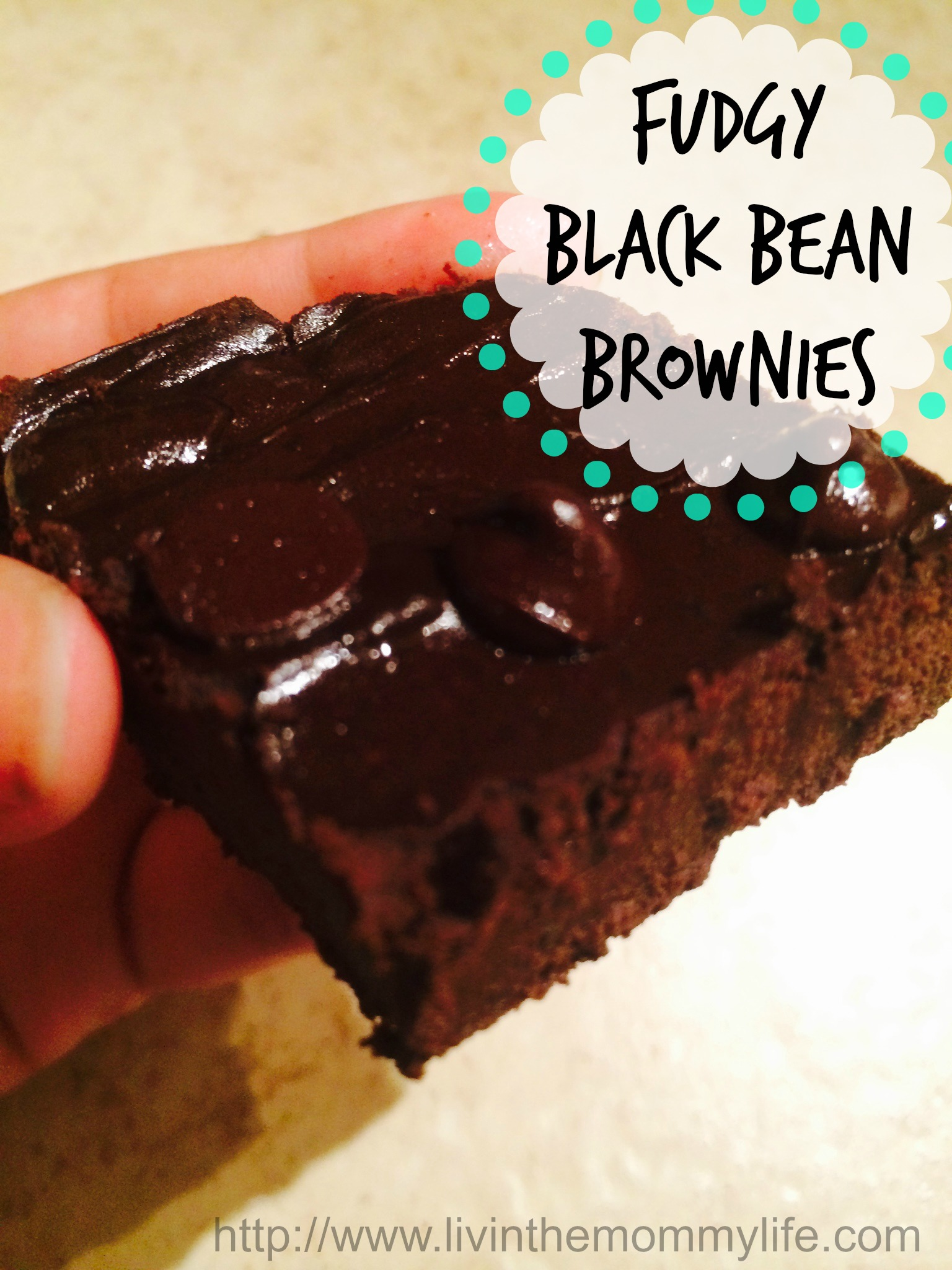 Fudgy Black Bean Brownies Recipe