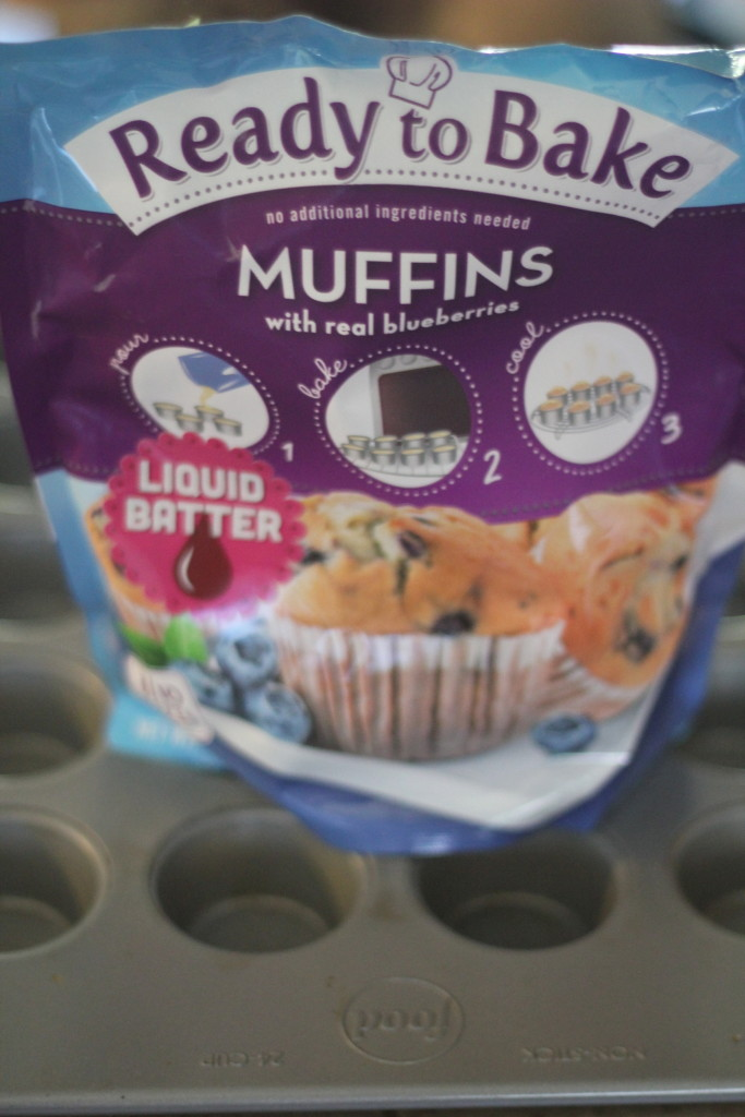 ready to bake blueberry muffins