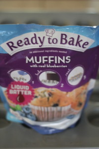 ready to bake blueberry muffins batter