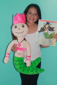 budsies plush mermaid princess