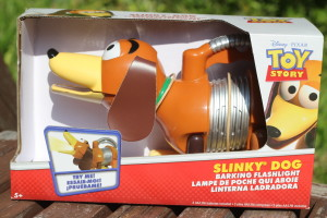 slinky dog barking flashlight