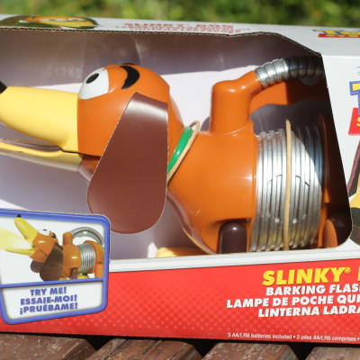 Toy Story Slinky Dog Barking Flashlight