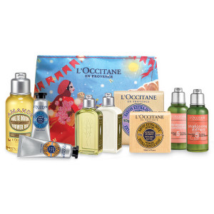 L'Occitane Travel Set Holiday Gift