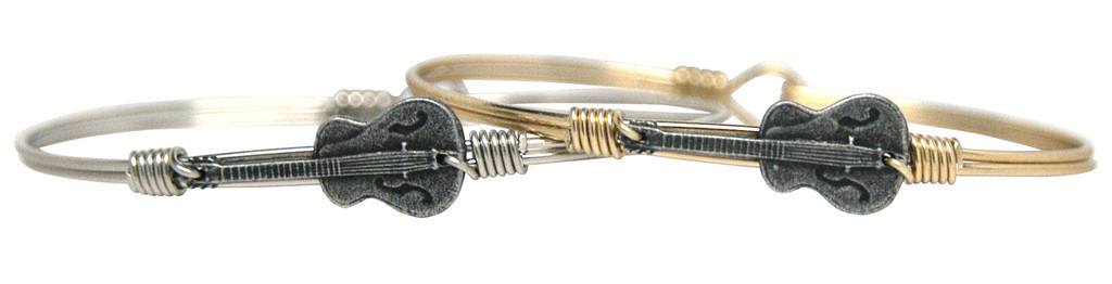 Luca+Danni Guitar Bangle Bracelet