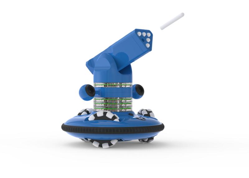 Zozbot Blue Robot
