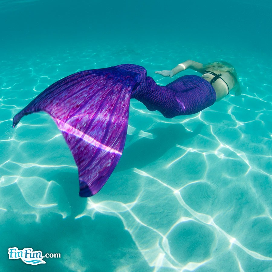 Mermaid for a Day with Fin Fun Mermaid Tails | Livin' the Mommy Life