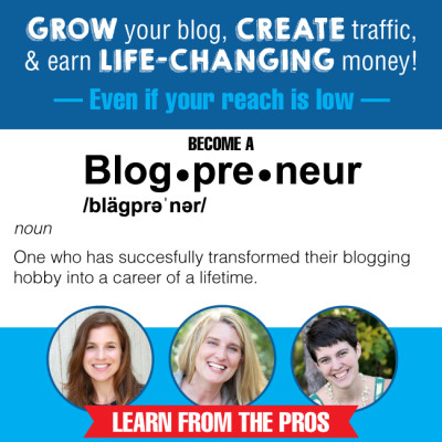 GROW your blog, CREATE traffic & earn LIFE-CHANGING money!