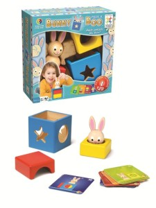 bunny peek a boo wooden game