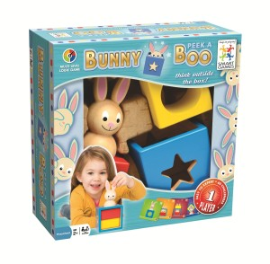 bunny peek a boo boxed