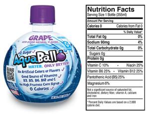grape nutrition info