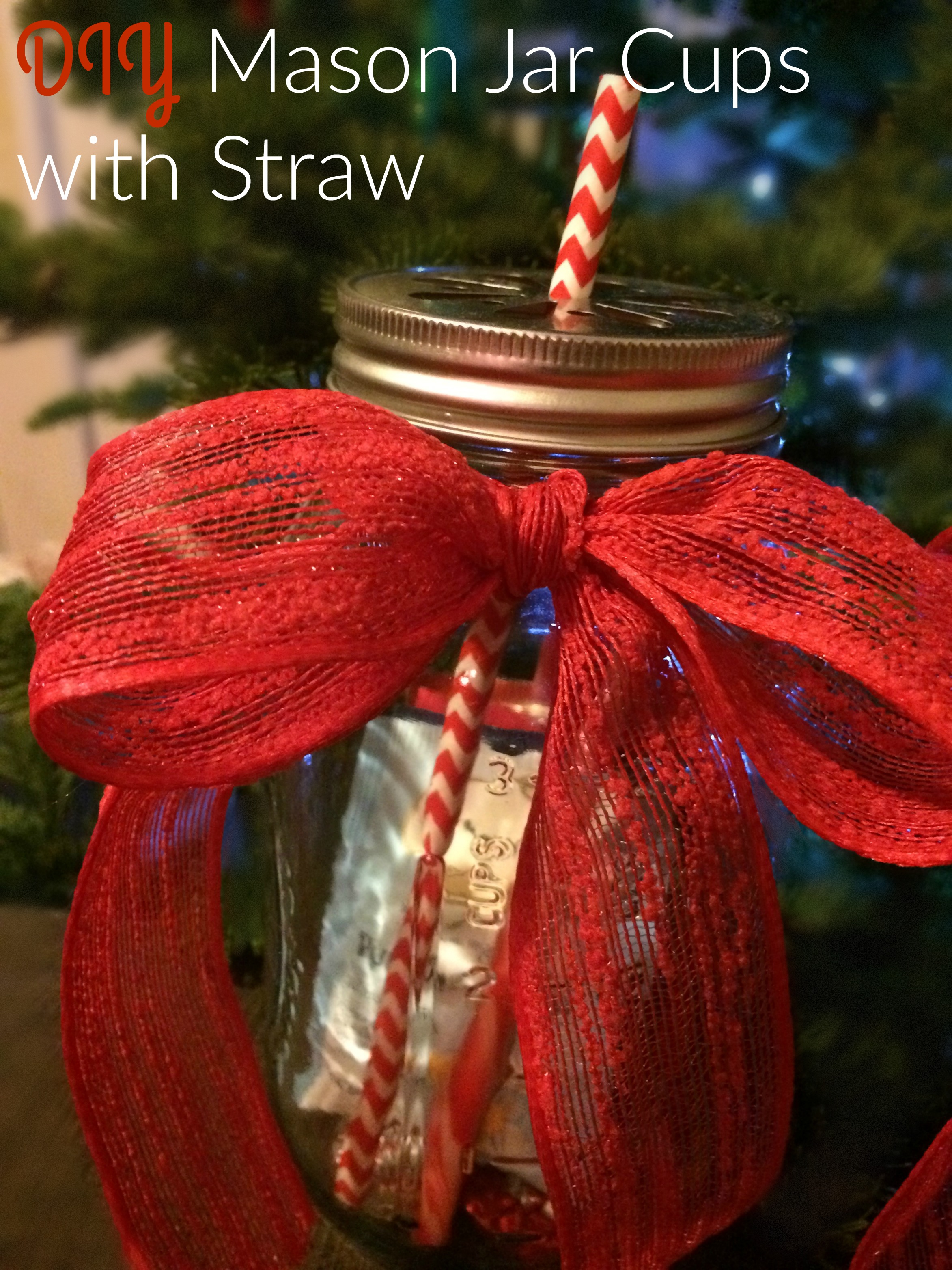 mason jar cups christmas gift ideas