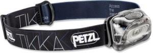 black petzl tikka headlamp