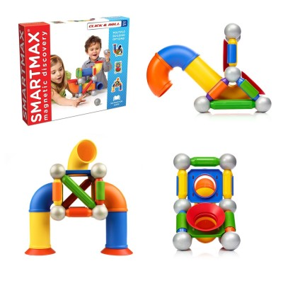 SmartMax Click & Roll Magnetic Construction Toy
