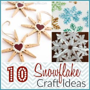 snowflake craft ideas