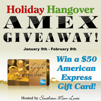 Holiday Hangover – American Express Gift Card Giveaway