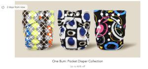 PatPat deals cloth diapers