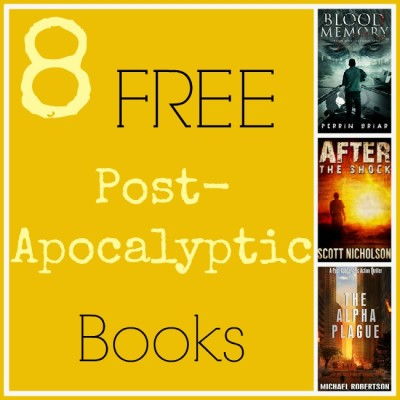 8 FREE Post-Apocalyptic Books from Amazon