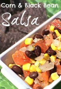 homemade easy corn & Black Bean Salsa
