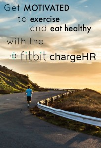 get motivated to exercise with the fitbit chargeHR