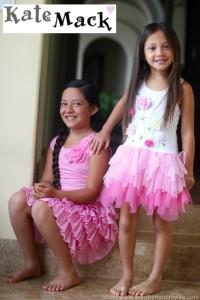 pink girls spring dress kate mack