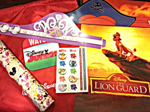 disney kids playdate goody bag
