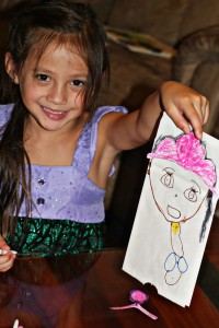 sofia the first puppet DIY craft