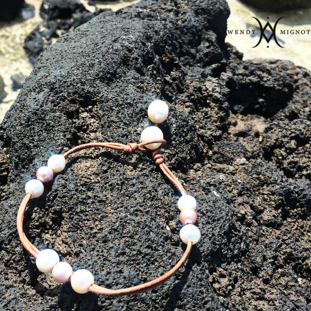 wendy mignot freshwater pearl anklet