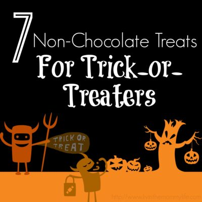 7 non-chocolate Halloween Treats for Trick-or-Treaters