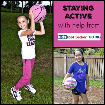 Staying Active with help from Kids Footlocker