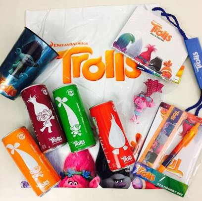 TROLLS Movie Swag Bag Giveaway