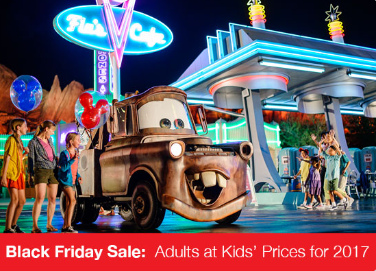 Disneyland ticket deals adults at kids prices