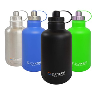 EcoVessel BOSS Triple Insulated TriMax Growler