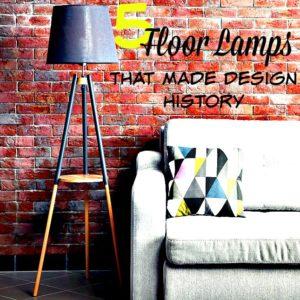 stylish floor lamps