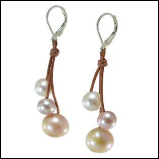 three-drop-pearl-multi-color-earrings