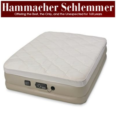 The Superior Inflatable Bed from Hammacher Schlemmer