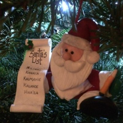 Personalized Santa Ornament from Ornaments.com