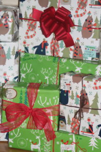 beautiful christmas wrapping from paper mart