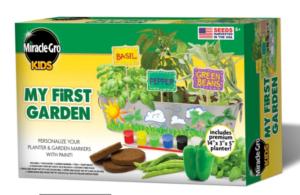 miracle gro kids garden kit