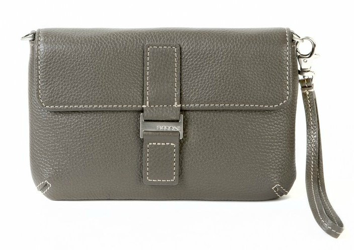 boconi-kylie-mini leather clutch