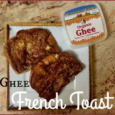 Ghee French Toast