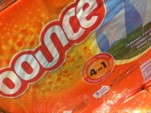 Bounce fabric sheets bulk