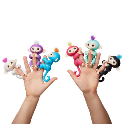 Fingerlings Baby Monkeys from WowWee