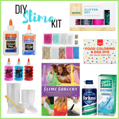 DIY Slime Kit + Marshmallow Fluff Slime Recipe