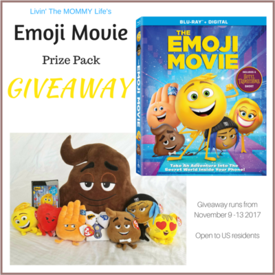 Emoji Movie Prize Pack Giveaway